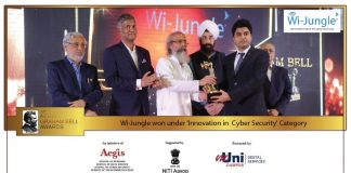 WiJungle wins prestigious Aegis Graham Bell Awards for Innovation in Cyber Security