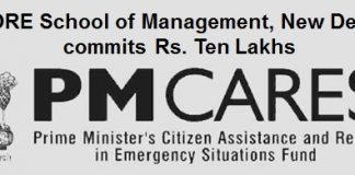 FORE School of Management, New Delhi committed Rs. Ten Lakhs towards the PM-CARES fund