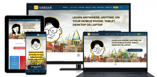 Notebook School Contributes Its Bit by Offering Free Access to Its Edtech App