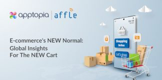 Affle partners with Apptopia to present a global E-commerce industry report