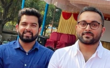 Ashutosh Kumar - Jha (Founder & CEO). & Sourav Chakraborty (Co-Founder & CBO)