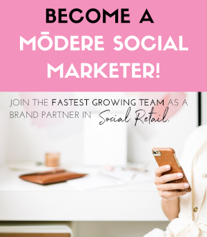 Become a Modere Social Marketer