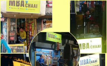 Youth who failed MBA is setting up tea counters all across Kolkata