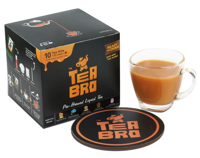 Tea Bro - India's First Pre-Brewed Tea Liquid Decoction